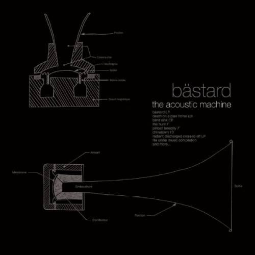 "BASTARD ""Acoustic machine"" CD"